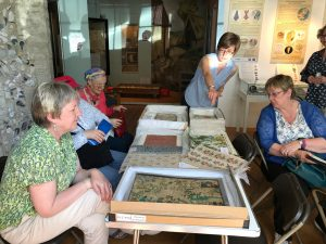 Artists visiting Saffron Walden Museum