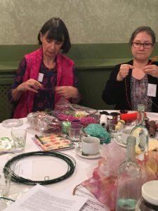 Members workshop with Carole Nicholls