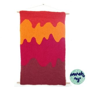 HANNAH HEYS MELTING SUMMER WALL HANGING